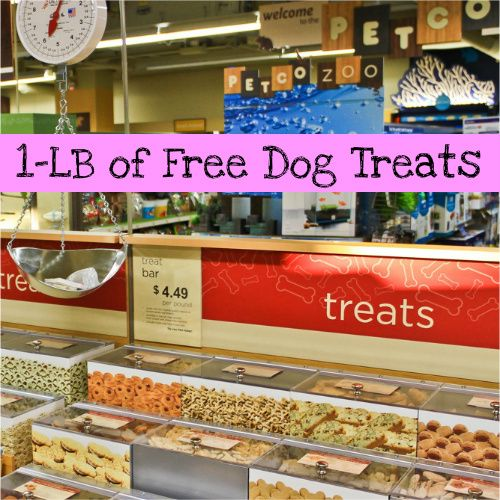 Petco InStore Coupon 1LB of Free Dog Treats (With