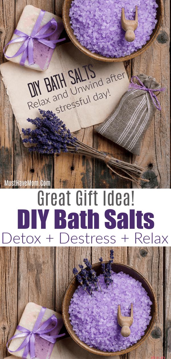 Lavender Bath Salts Diy Recipe For Homemade Gifts And Health Benefits Bath Salts Diy Recipes Bath Salts Diy Diy Bath Products