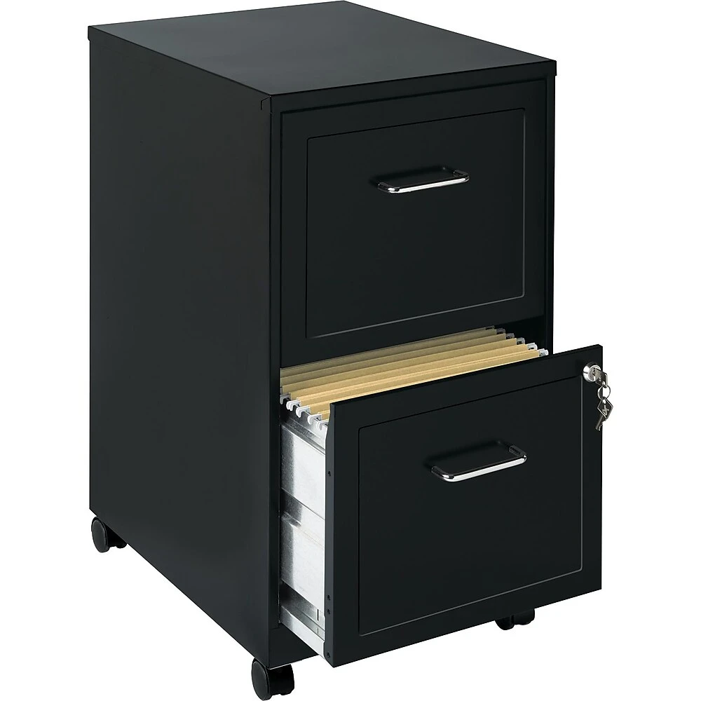 Find A Hirsh Vertical Mobile File Cart 2 Drawer Letter Size Black At Staples Ca Read Reviews To Learn About The Top Rated Hirsh Vertical Mobile File Cart 2 In 2020 Filing Cabinet