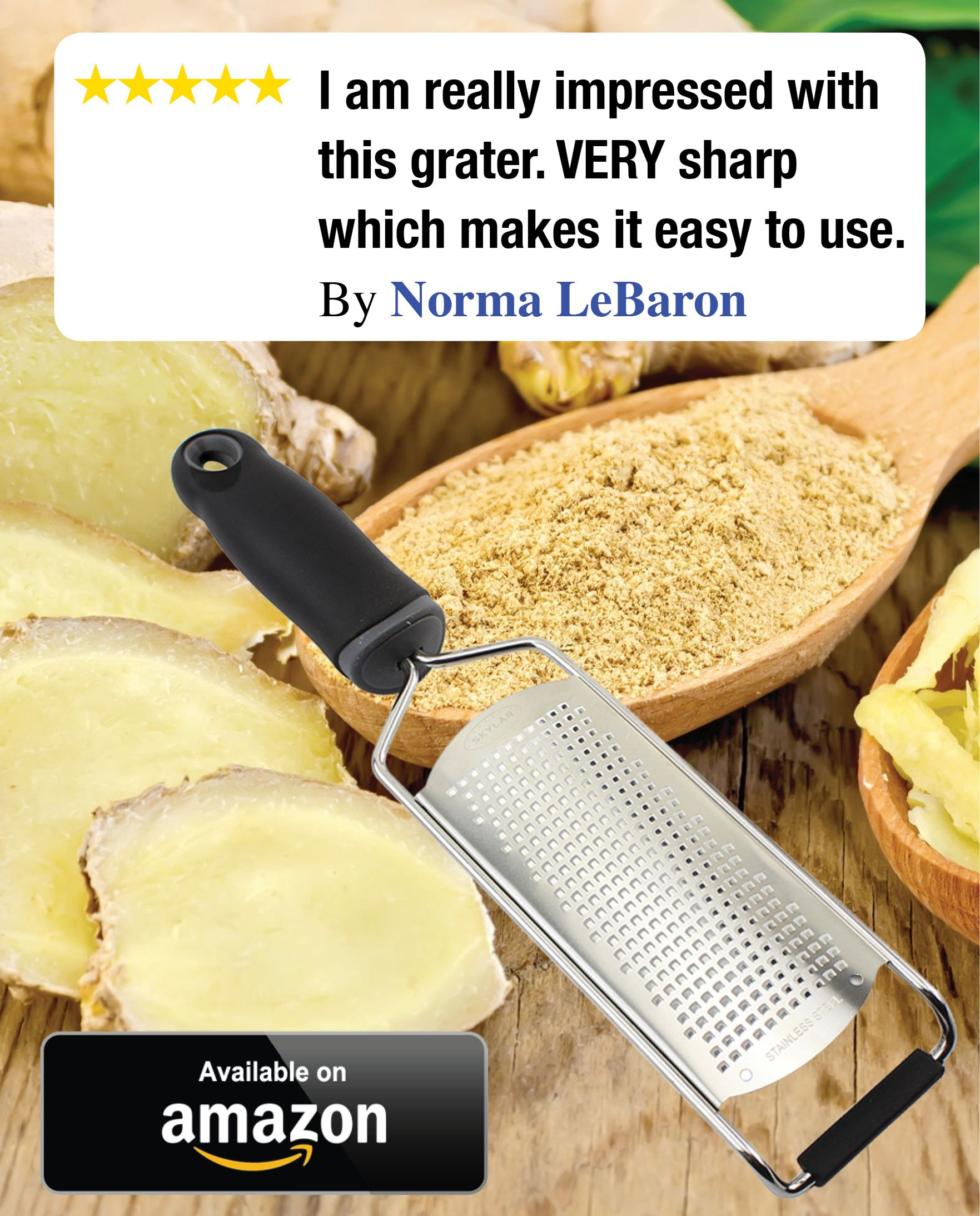 This Grater Is Far Superior To The One It Replaces Grates Ginger Like A Dream Click Image Order