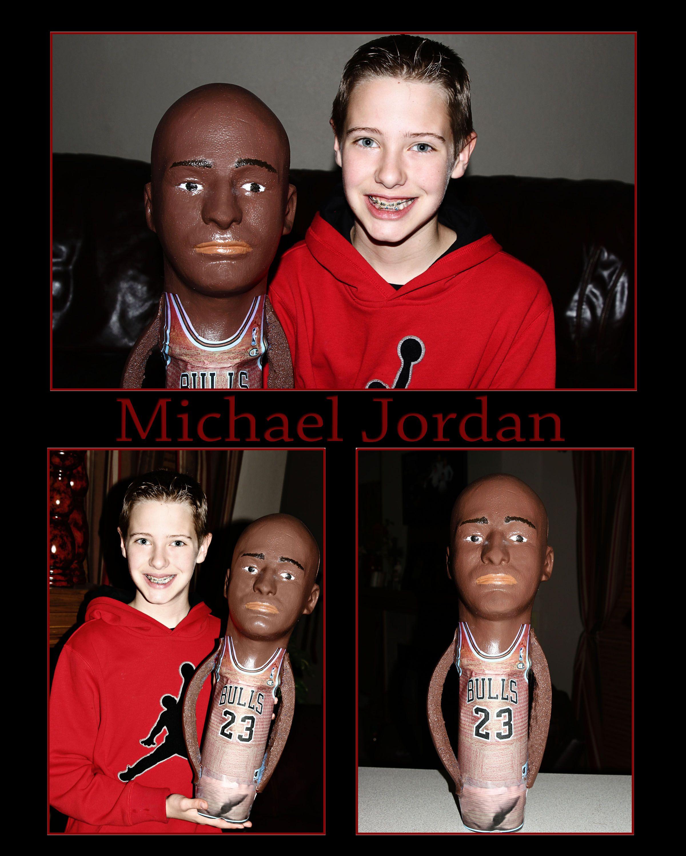 d1690deef5a33c Dylan s class sport bottle project on Michael Jordan.