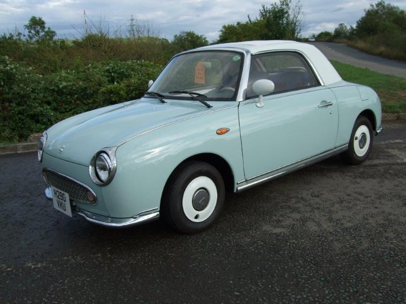 Very Rare Left Hand Drive Nissan Figaro Going To The Usa From