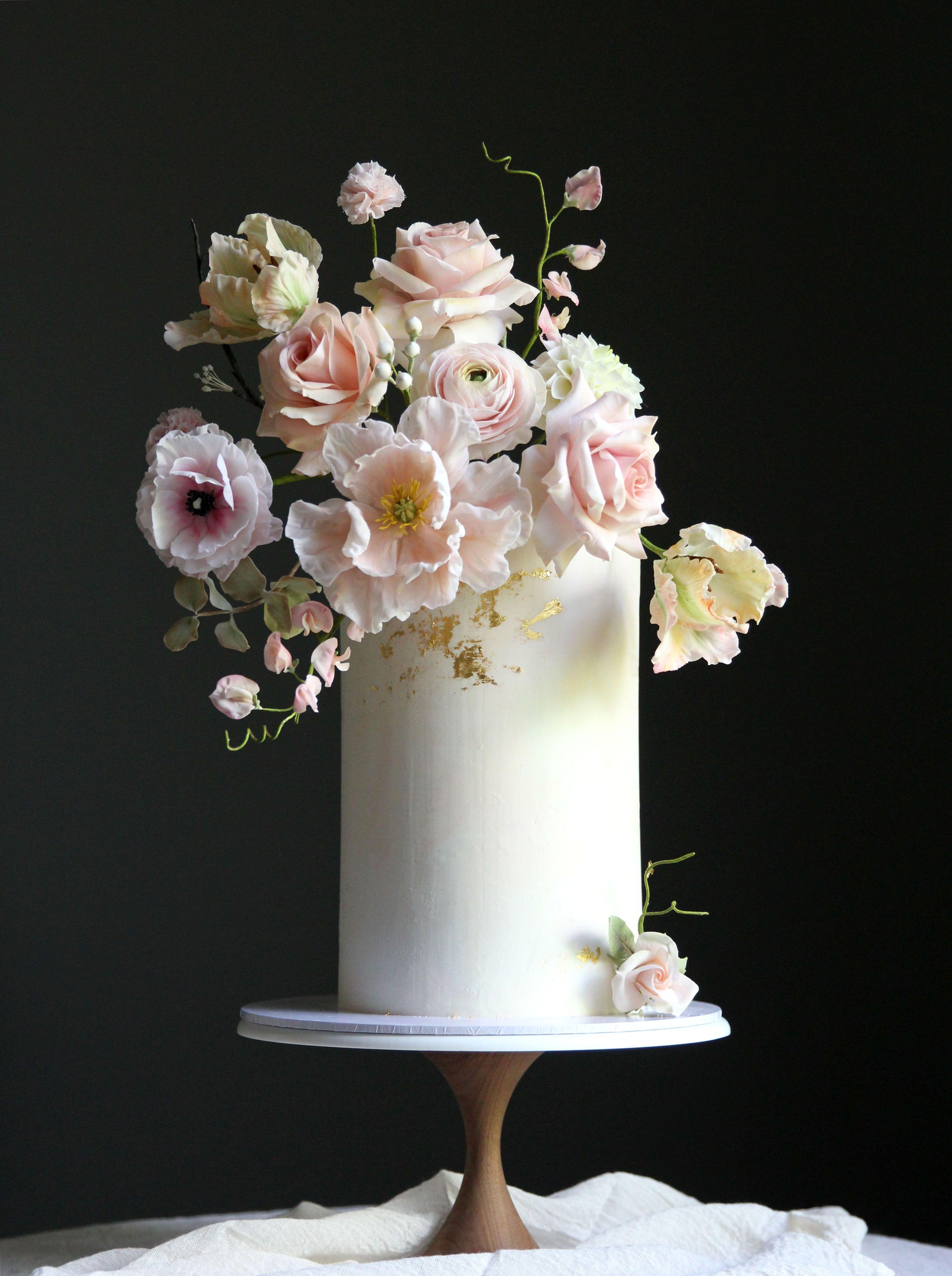 18+ Gum paste flowers for wedding cakes ideas
