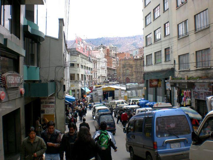 Ciudad de La Paz, calle Max Paredes