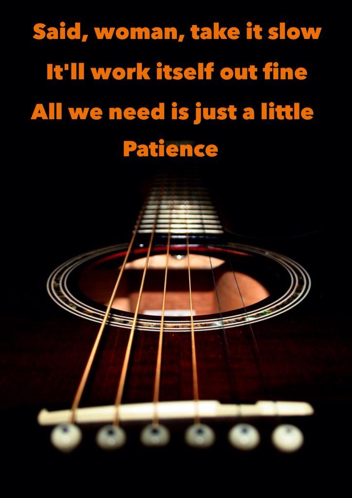 Setenta y tres... Patience bye Guns N Roses