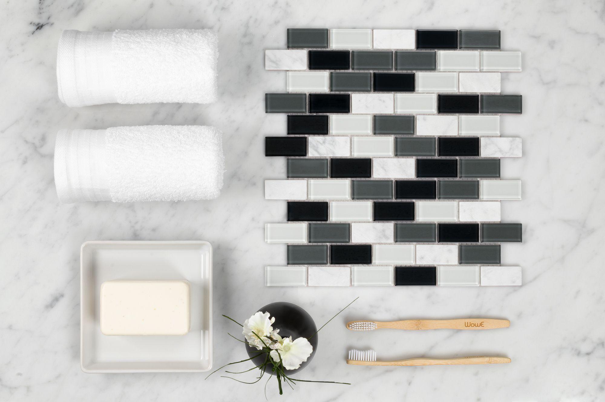 - DIY Tile Backsplash Kit 15Ft Statuary (With Images) Diy Tile