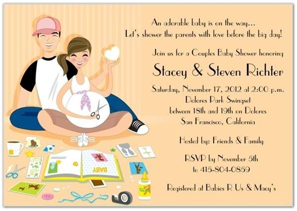 Awesome How to Create Couples Baby Shower Invitation Wording - how to word baby shower invitations
