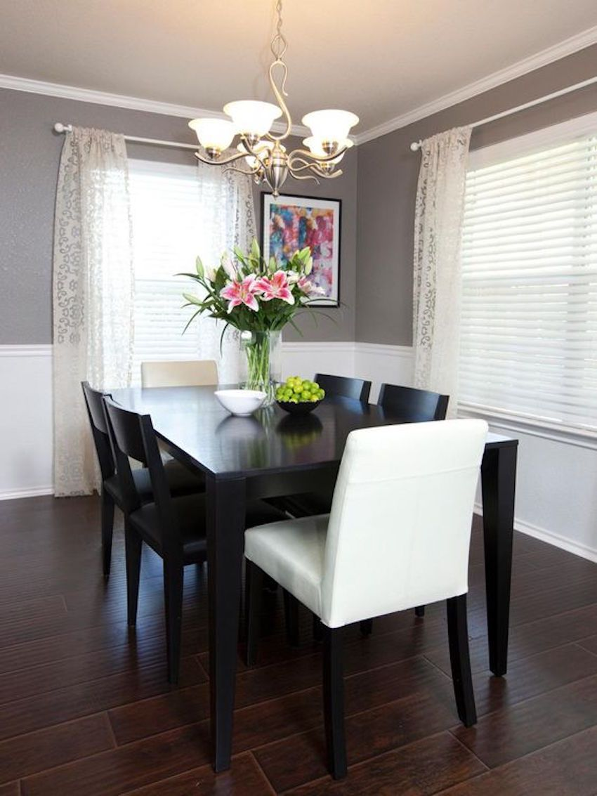 10 Gorgeous Black Dining Tables For Your Modern Dining Room Dining Room Small Small Dining Room Decor Black Dining Room Table