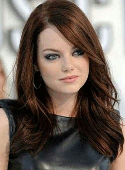 Color de cabello chocolate silvia