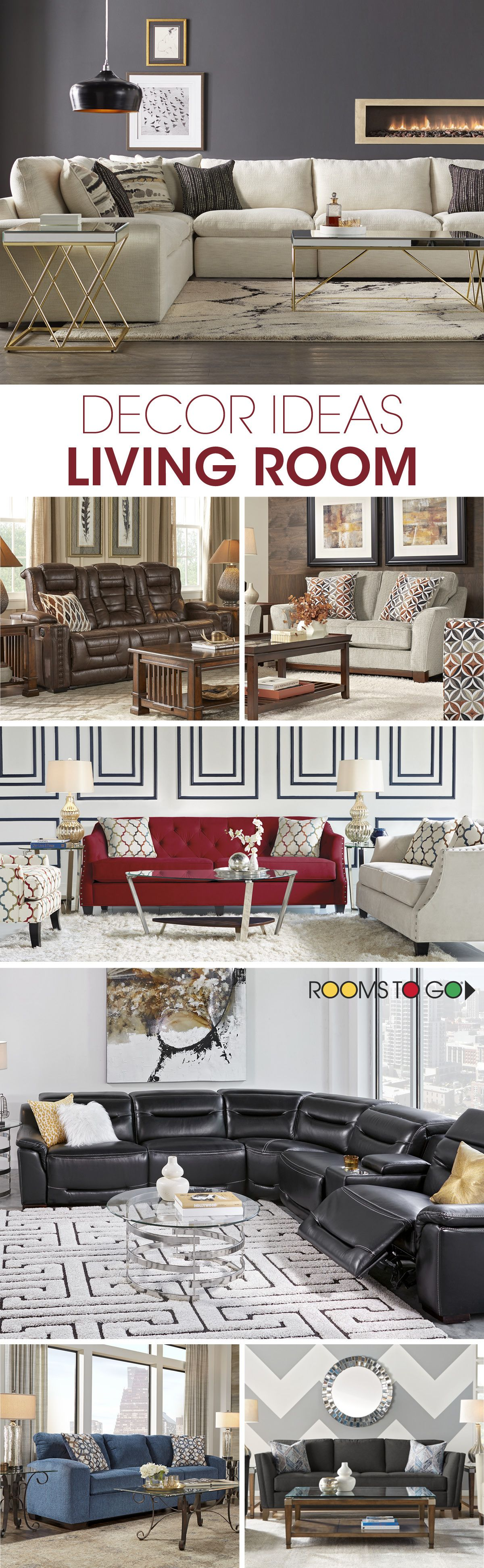 Looking for decor ideas for your living room? Add accent pieces ...