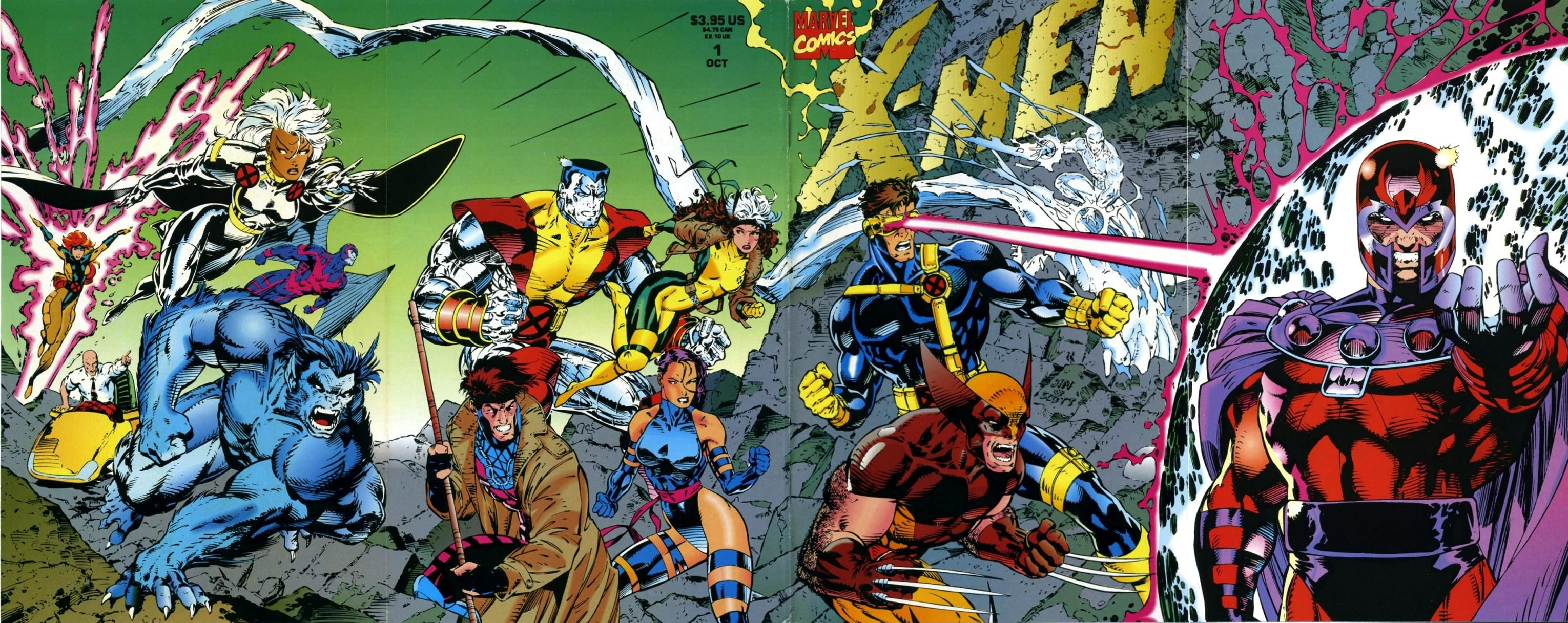 Jim Lee X Men Posters 1 Comic Book Covers Comic Book Superheroes Jim Lee