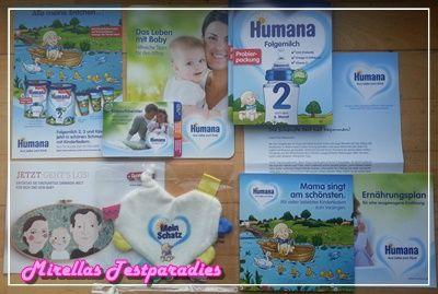 Humana Gratis-Baby-Post schickte mir mein drittes Paket.