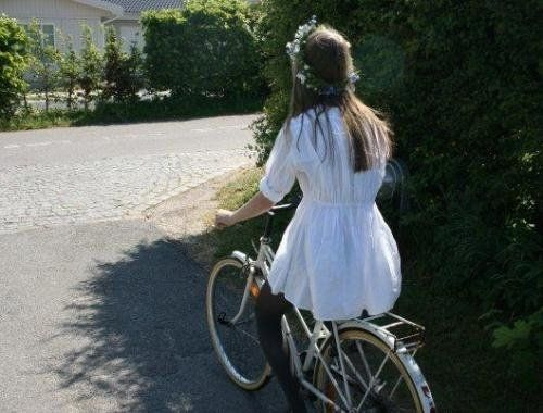 beauty and a bicycle