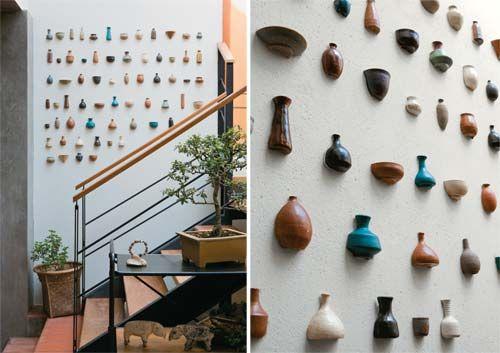 Beautiful things are love and dreams: Ideias para decorar paredes