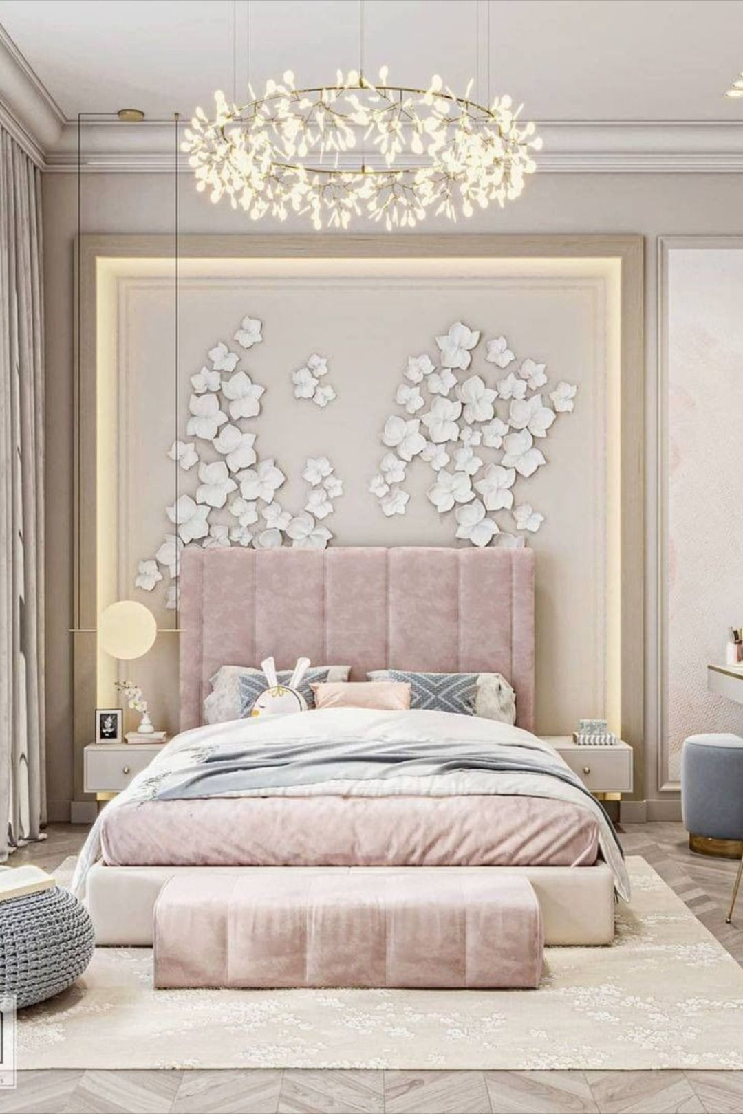 Luxury girl room project design by Darwish Designs in 12 ...