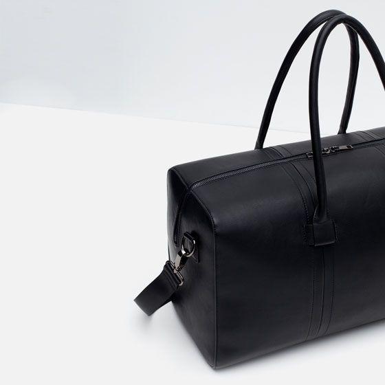 Image 3 of ELEGANT DUFFLE BAG from Zara