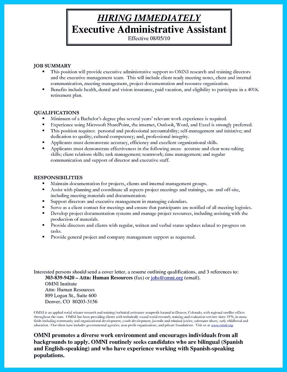 Administrative Assistant Resume Sample Inspiration In Writing Entry Level Administrative Assistant Resume You Need To .