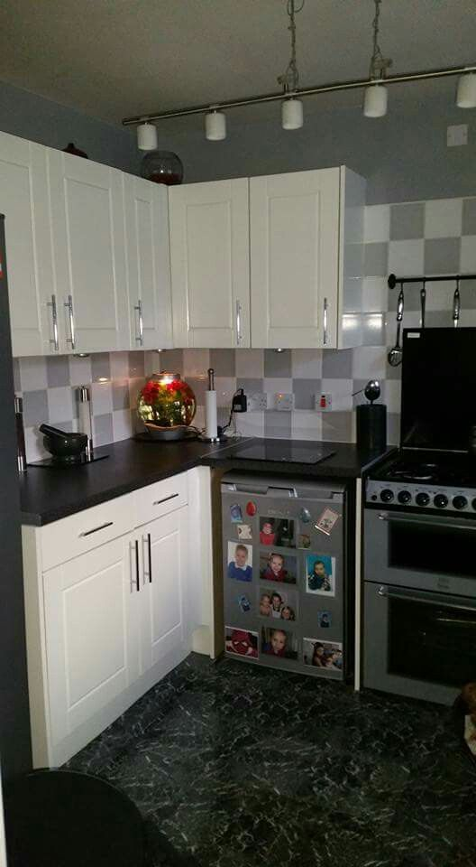 White Ronseal Cupboard Paint Fablon Work Tops