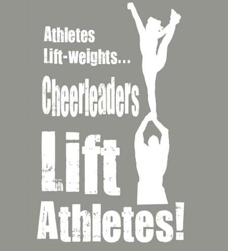 Yes, exactly, we cheerleaders rule! Cheer is much of a sport than any other sport out there! #cheerquotes