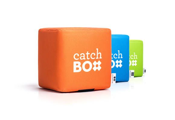 CatchBox -- The Throwable Microphone for Audience Engagement