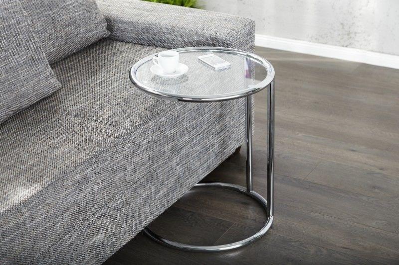 Beistelltisch Couchtisch Plate Art Deco Design Glas Chrom Neu In Mobel Wohnen Mobel Tische Ebay Design Beistelltisch Beistelltisch Glas Glastische