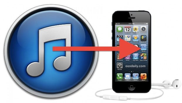 how to get music from itunes to ipod without syncing