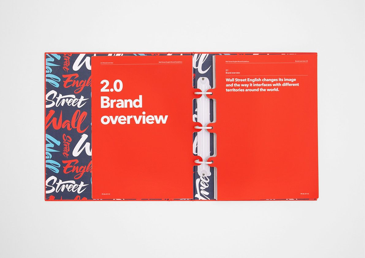 wall street english brand guidelines on behance on wall street english id=39830