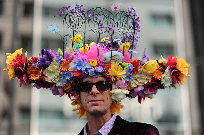 Highlights From New York's Easter Bonnet Parade | Easter hat parade, Easter  bonnet, Easter hats
