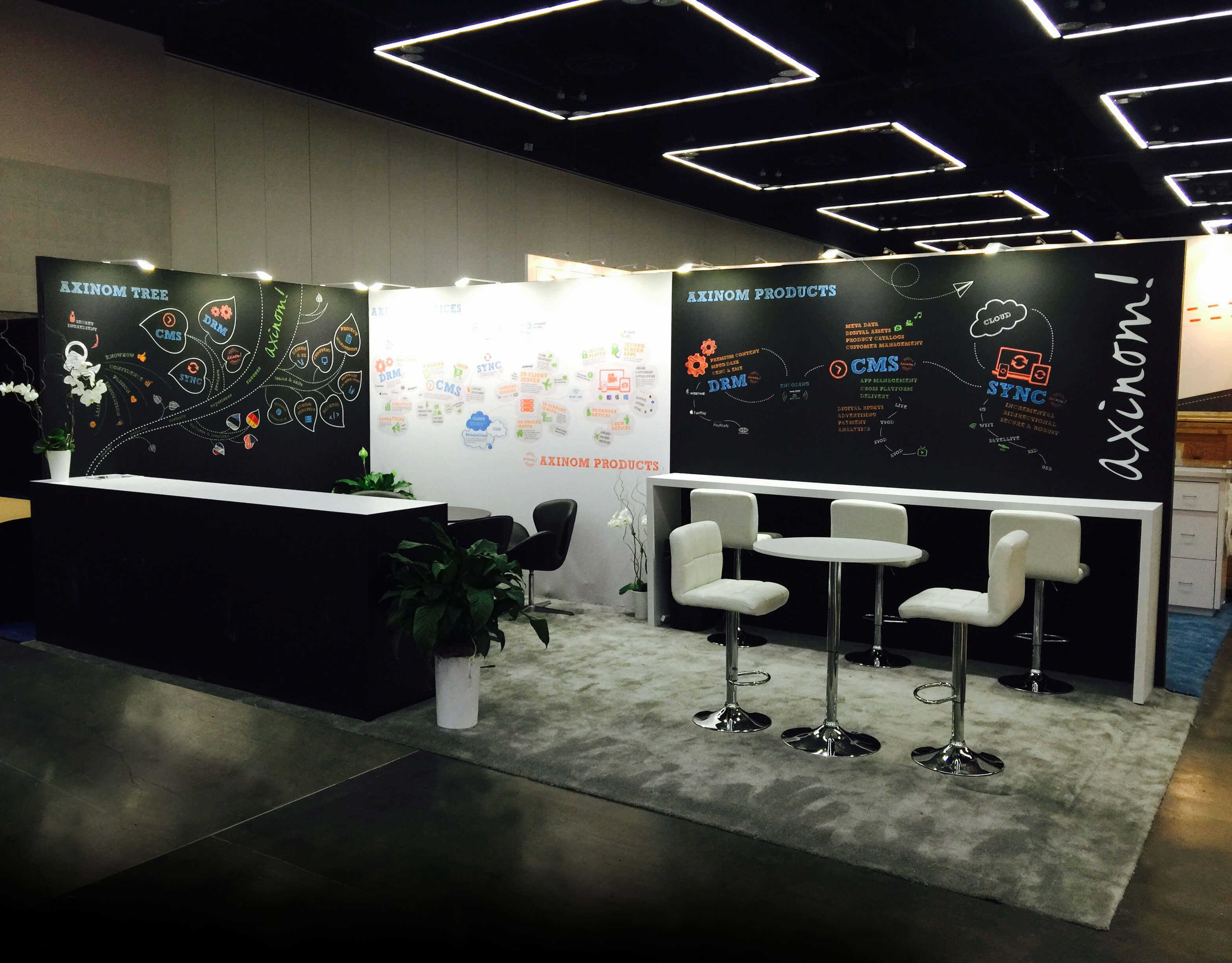 10x20 Trade Show Rental Booth APEX 2015 Portland To Rent
