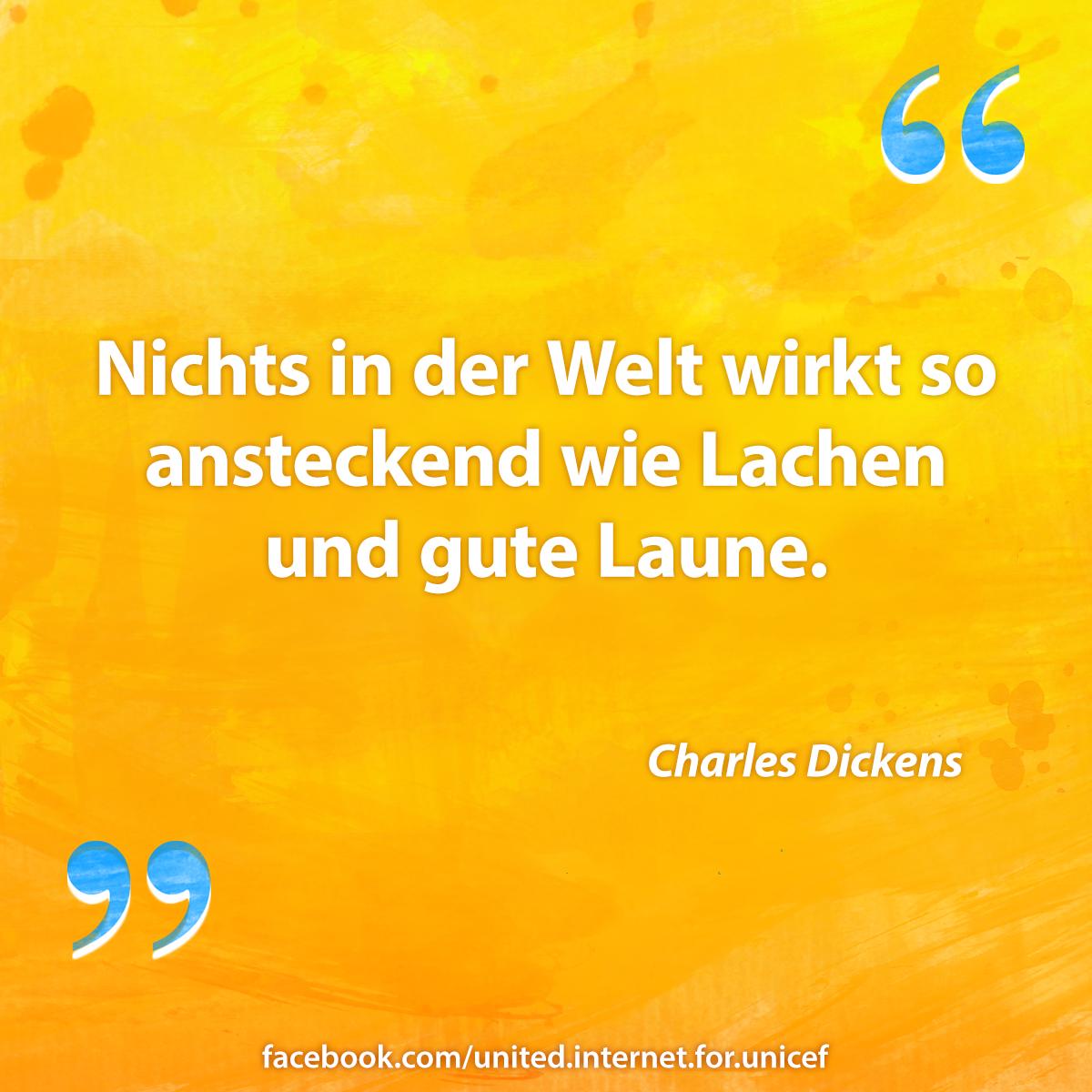 Zitat von Charles Dickens © United Internet for UNICEF