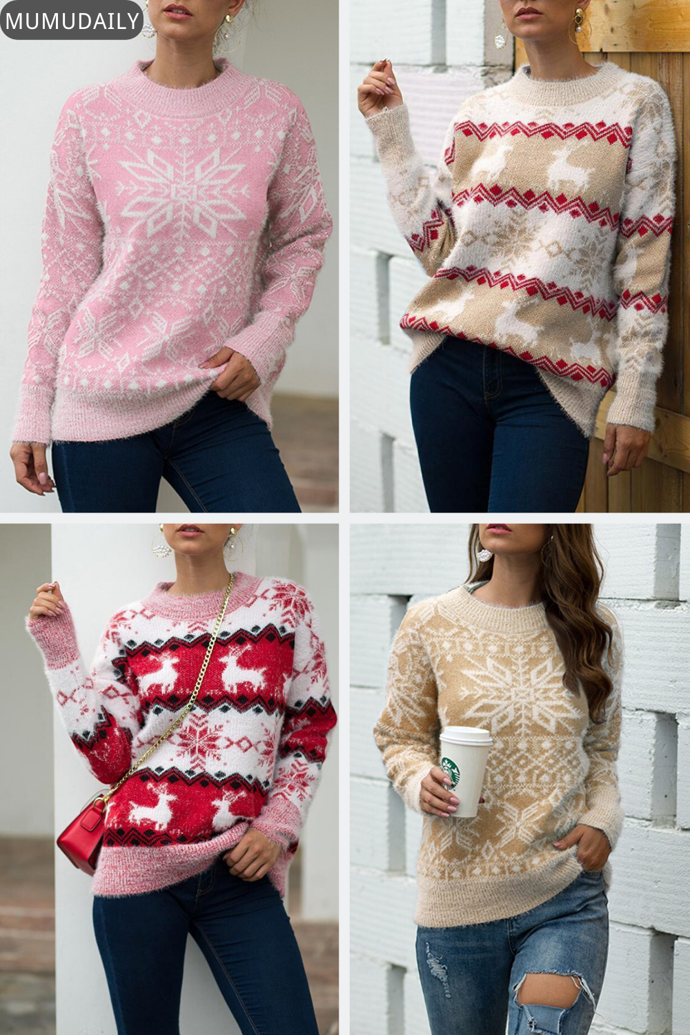 Women's Hot Sale Sweaters-Pin