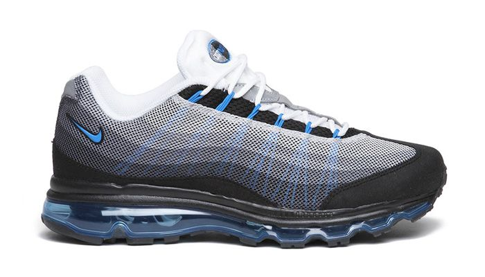 quality design a52a3 4da06 Nike air max 95 dynamic flywire white black and blue