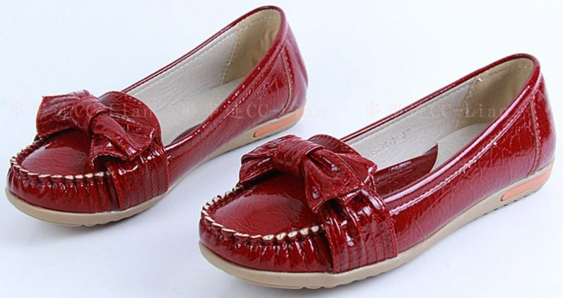 One fine day I should get bold red shoes!