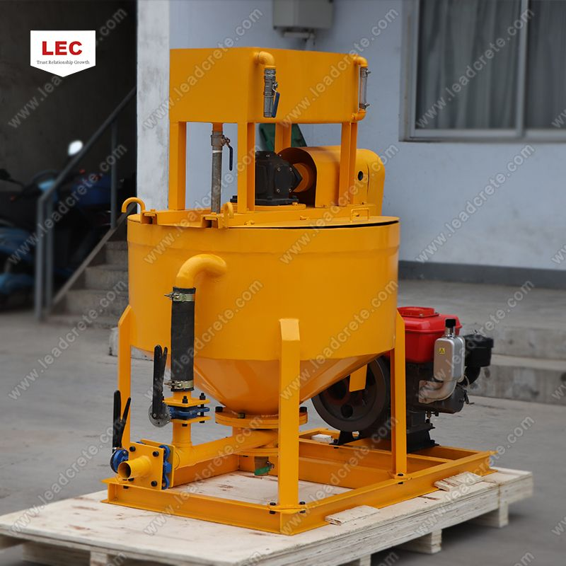 LM400D cement grout mixer is a high speed grout mixer