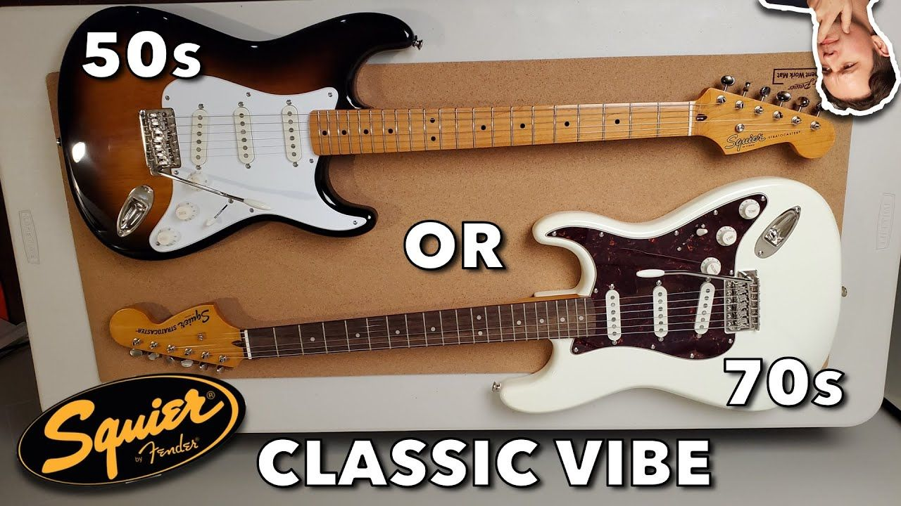 Fender Squier Classic Vibe 50s Vs 70s Stratocaster Which Is The Best F Squier Fender Squier Vibes