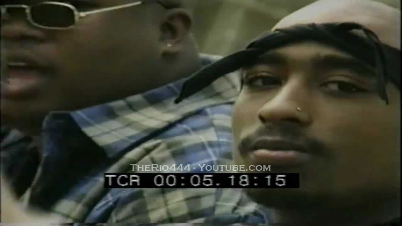 2pac & E40 Footage from the Practice Lookin Hard Video Shoot