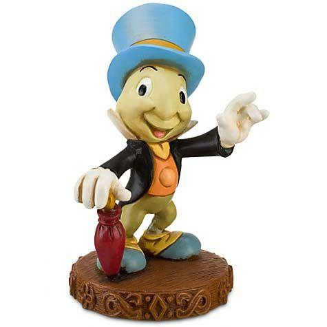 NEW Disney Parks JIMINY CRICKET in Matchbox Fig FIGURE Figurine Pinocchio