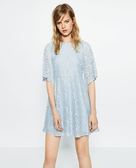 512bf5ad Image 2 of FLOUNCE SLEEVE DRESS from Zara | Zara SS16 | Dresses with ...