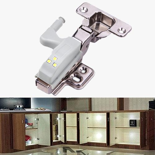 Set Of 10 Led Hinge Lights Modern Kitchen Design Home Remodeling Diy Furniture Removal