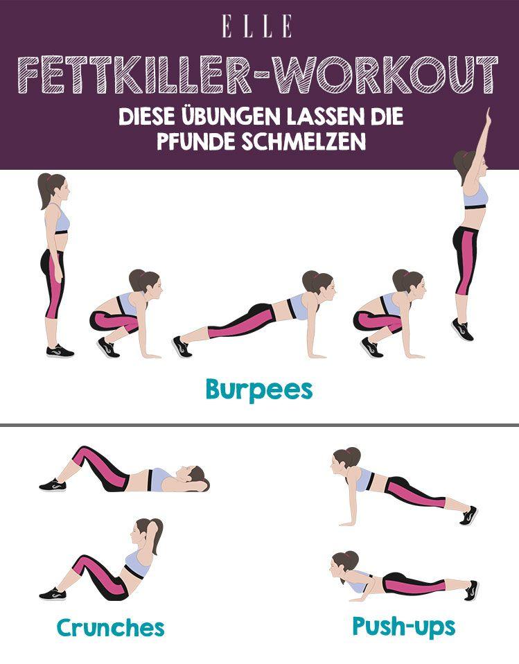 Übungen zur Fettverbrennung von Bauch und Taille