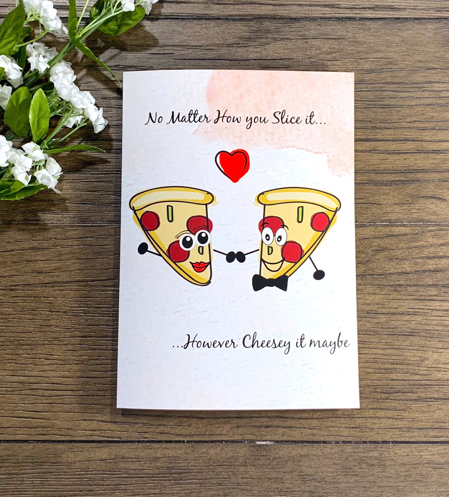 Punny Card Funny Card Taco Couple Card for Girlfriend Anniversary Card Card for Boyfriend