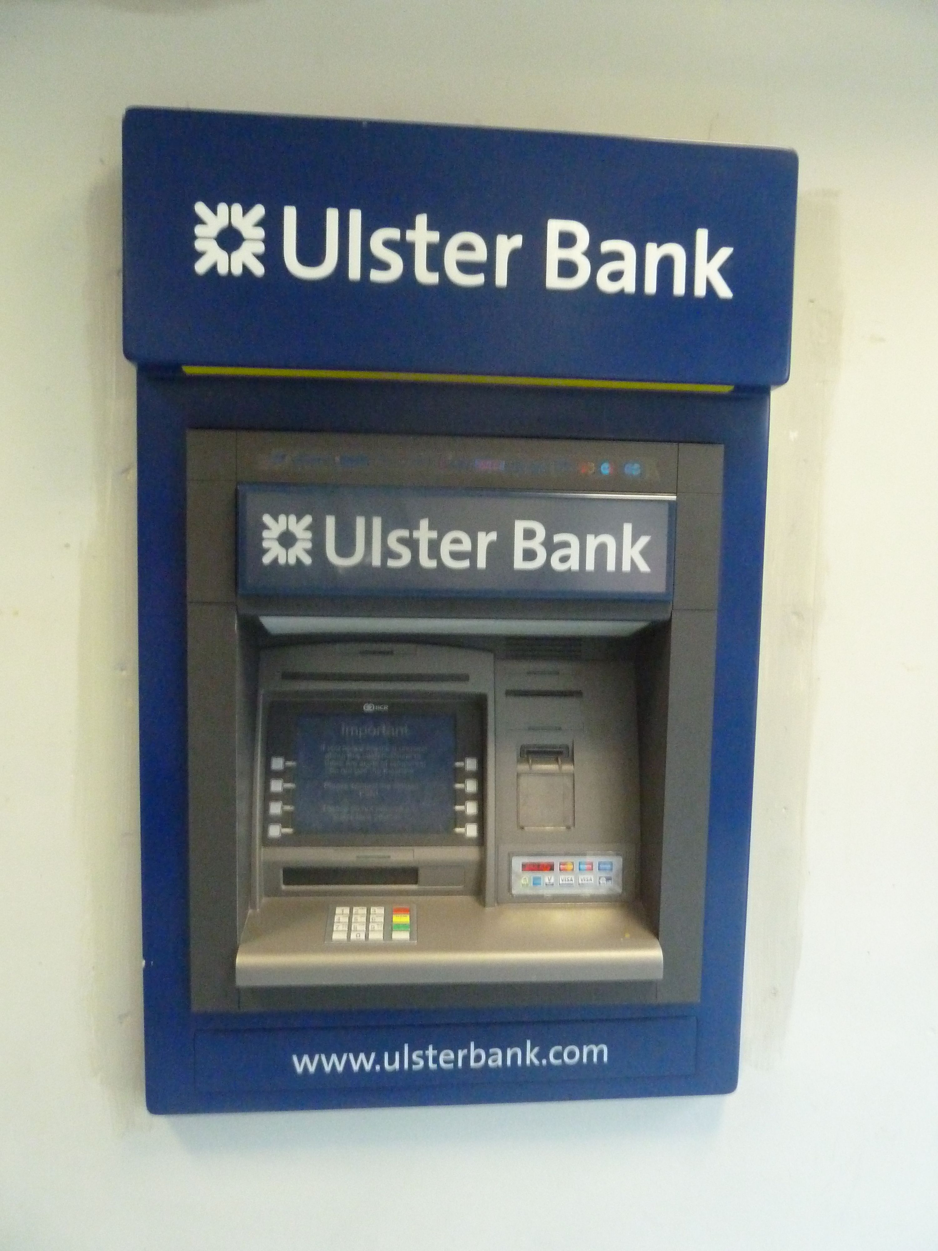 Ulster Bank ATM | ATM Los Angeles | Pinterest | Interaction design