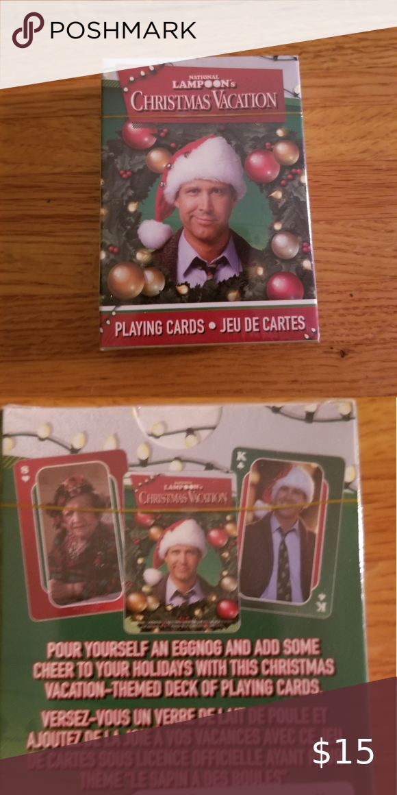 National Lampoon's Christmas Vacation Playing Card Playing