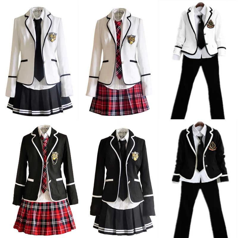 Japan Korea Jk Uniforms High School Boys Girls Students