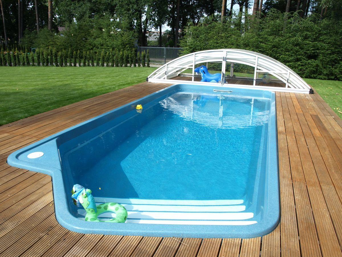 Fiberglass Swimming Pools For Unique Shape Of Pool Dragon Buoy