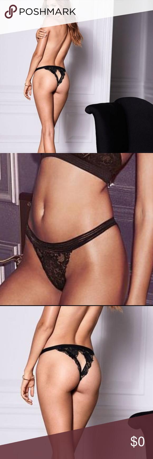 bdb3edb1bb36 Victoria's Secret Very Sexy Peek-a-boo Cheekini NWT!! Victoria's Secret Very