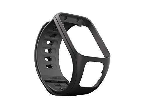 TomTom Fitness Tracker Accessory for Spark Watches - Black (Small) -- Details can be found by clicking on the image.