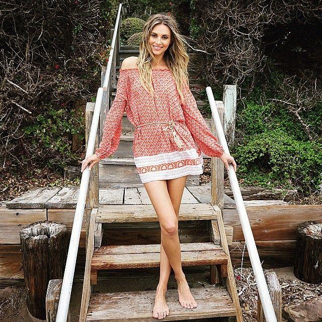 @ludidelfino wears the rambler dress  #sunseasalt #faithfullthebrand