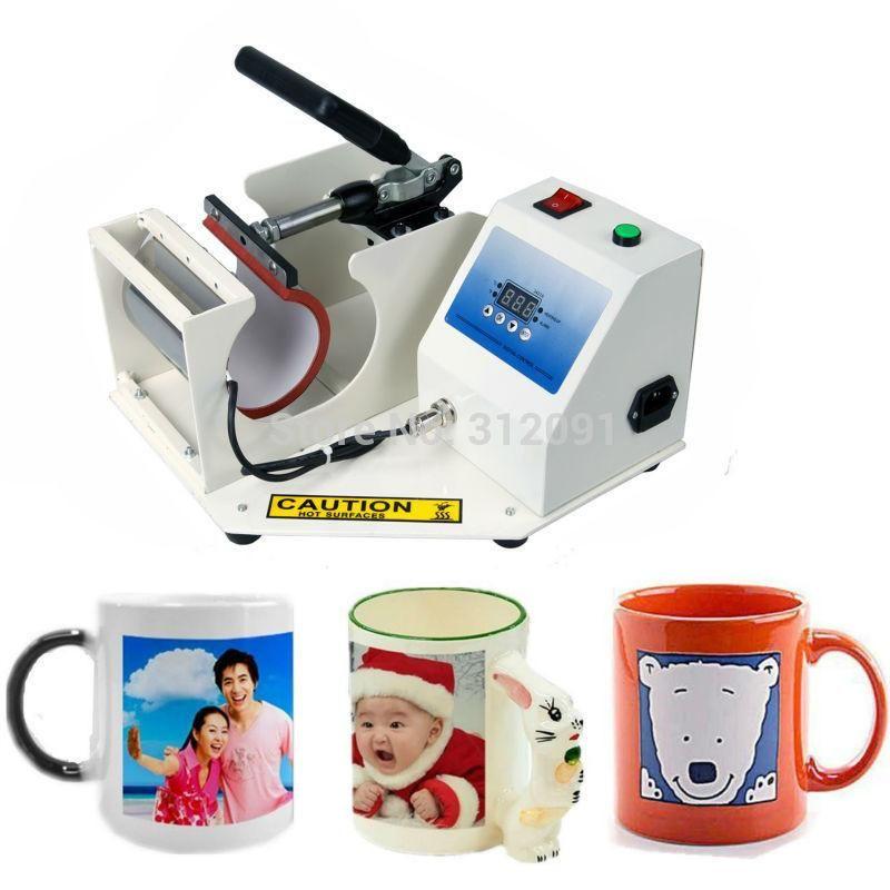 Digital Cup Mug Heat Press Transfer Machine Sublimation Coffee Mug Printing (USA Shipper)