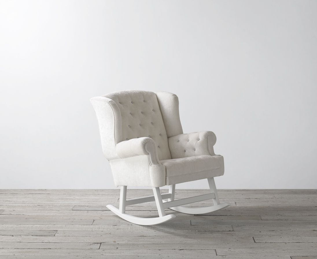 Opulence Crystal Rocking Chair From Bambizi